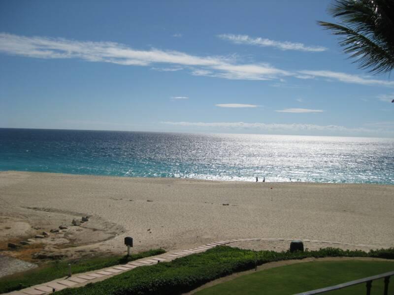 Sea of Cortez view from condo - Ocean front Newly Remodelled Luxury Casa Del Mar - San Jose Del Cabo - rentals