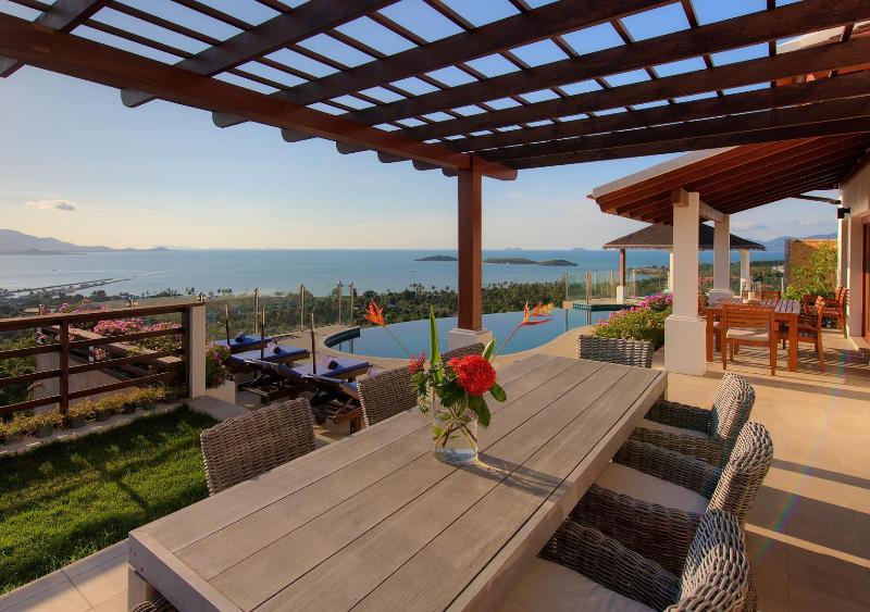 View from Al Fresco Dining - Samui Summit Villa-Best Views on the Island - Koh Samui - rentals