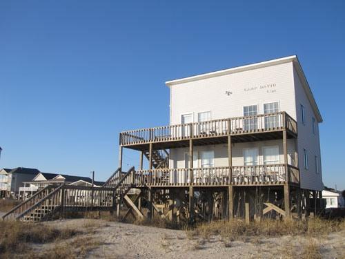 Camp David Downstairs 203 West Beach Drive - Image 1 - Oak Island - rentals