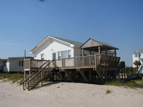 Pleasant Days  617 East Beach Drive - Image 1 - Oak Island - rentals