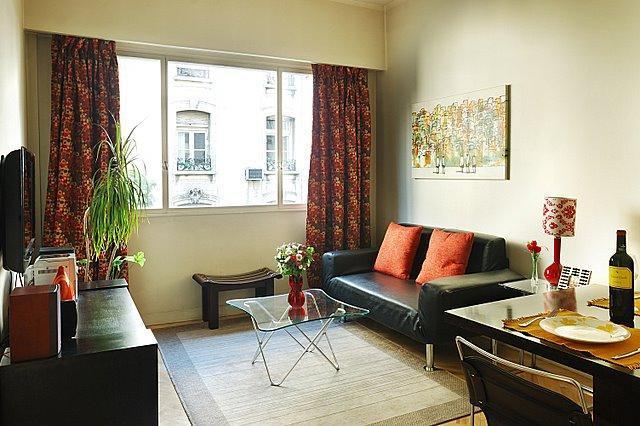 Living room with twin sofa bed - Heart of Recoleta -Best Location-Totally Renovated - Buenos Aires - rentals