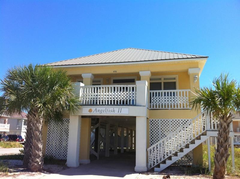 Angel Fish Front home - Deck with view of Mobile bay and the Gulf - 4BR/3.5BA Beach,Pools,Tennis-Wifi-$50off Apr/May w - Gulf Shores - rentals