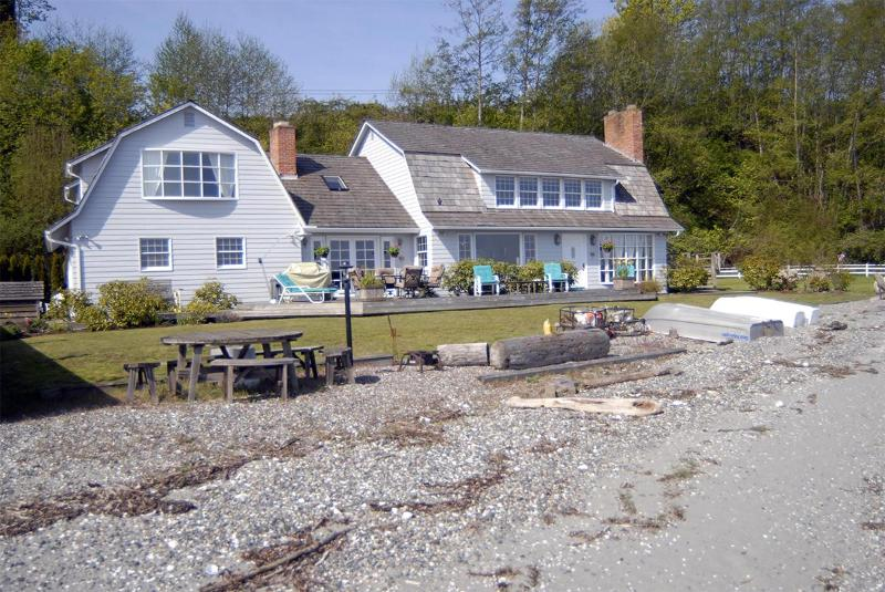 Beash Side of Home - 3 bedroom No Bank Waterfront - Pet Friendly Home - Lummi Island - rentals