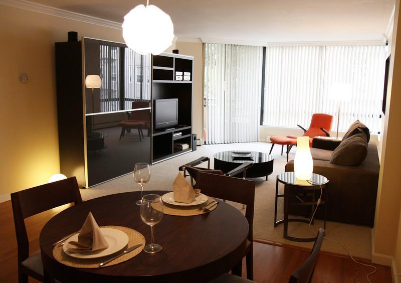 Living/ dining room - Union Square/Downtown large + modern apartment - San Francisco - rentals