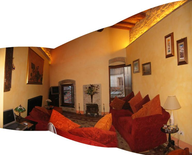 Comfortable living room - Vicolo Etrusco - Todi - rentals