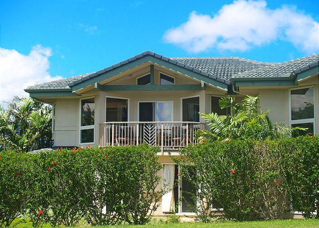 Villas of Kamalii 10: Luxury interior, mountain views, golf and beach nearby - Image 1 - Princeville - rentals
