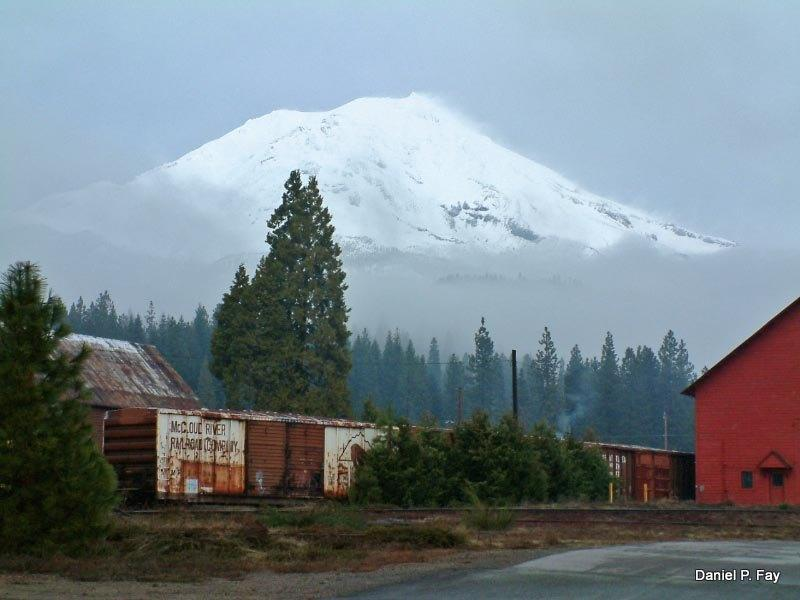 Mt. Shasta from McCloud - Toad Hollow -  Your Home Away from Home - McCloud - rentals