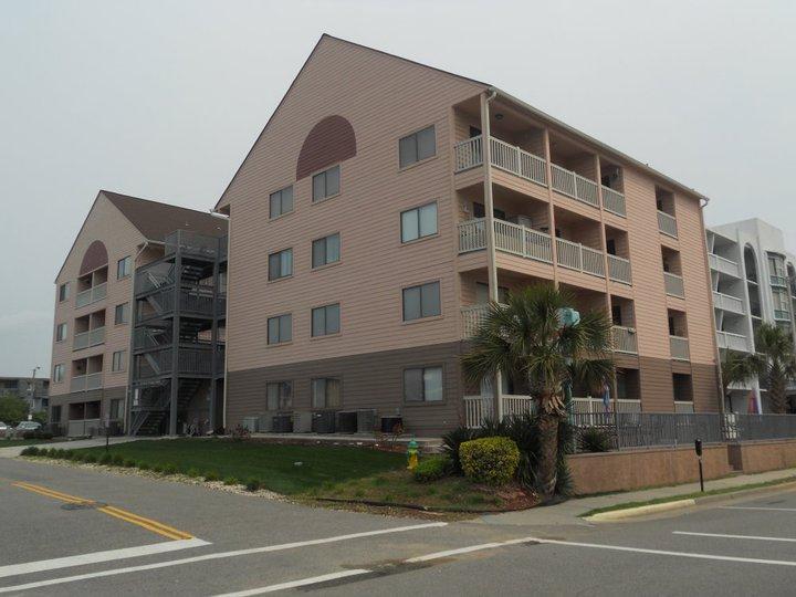 La Mirage Exterior - Affordable Oceanview 2 Bedroom Condo with a Balcony - Myrtle Beach - rentals