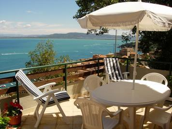 Villa with spectacular view of the sea, sleeps 9 - Image 1 - Porto Santo Stefano - rentals