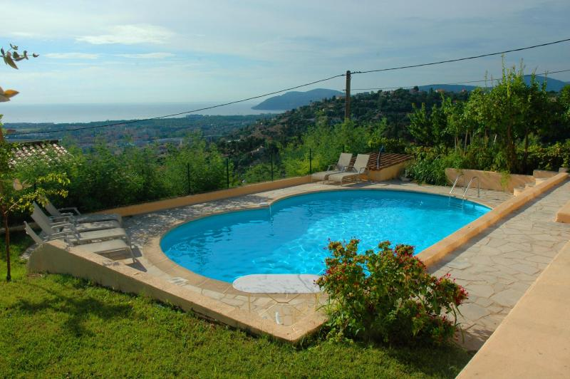 Amazing French Riviera Villa with Pool and Panoramic Sea View - Image 1 - Cannes - rentals