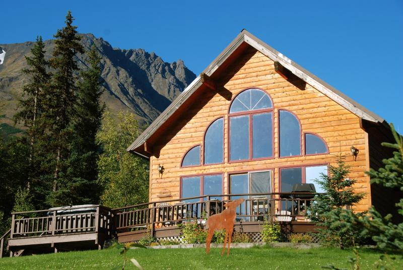 Wild Rose chalet - Awesome View Spruce Moose 2 Chalets w/ hot tubs - Moose Pass - rentals