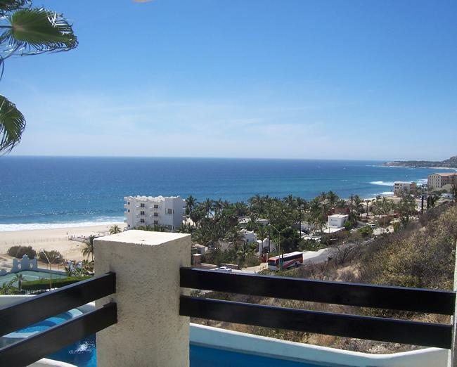 View from patio - *180 * OCEAN VIEW* - COSTA AZUL San Jose del Cabo - San Jose Del Cabo - rentals