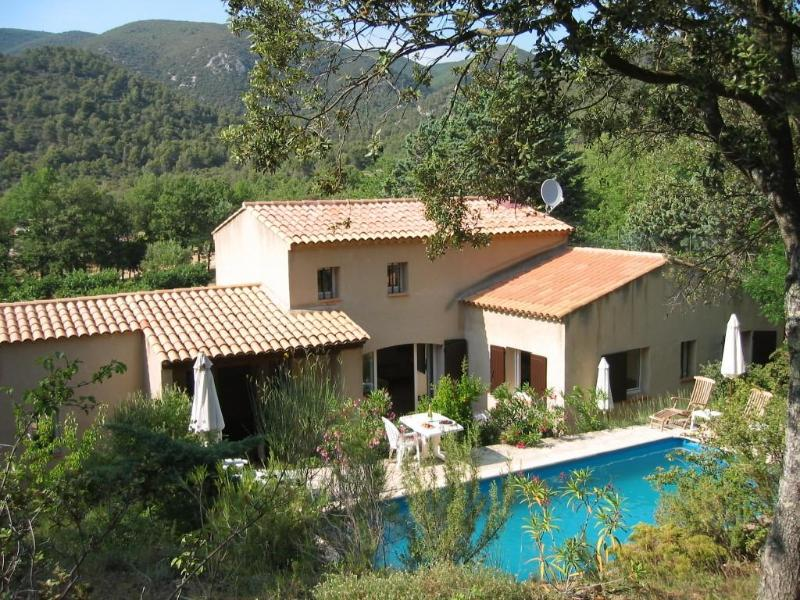 Provencal Country Villa  Pool and Tennis Court - Image 1 - Lourmarin - rentals