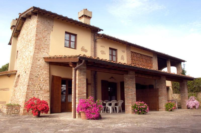 La Pergola - Exterior - 3-room apartment in the heart of Tuscany - Montespertoli - rentals