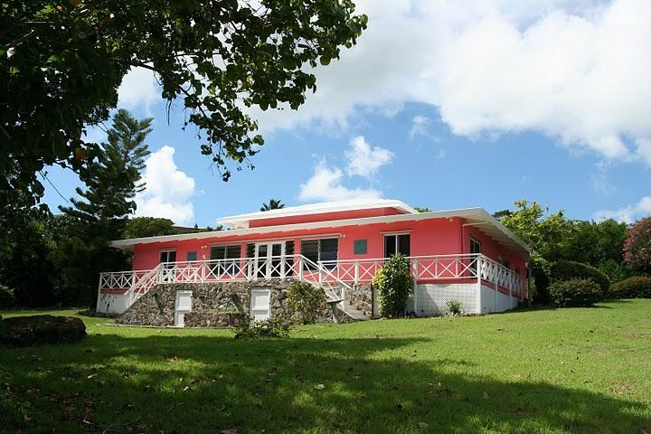 Pink House St Croix from Miss Bea Rd - Pink House St Croix - Christiansted - rentals