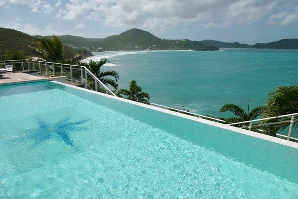 Very private and spectacular villa nestled into the Cliffside WV BEN - Image 1 - Pointe Milou - rentals