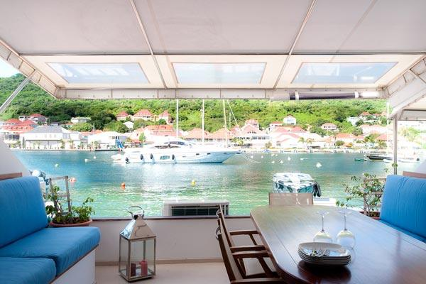 Unique townhouse directly on the harbor near Shell Beach WV JNM2 - Image 1 - Gustavia - rentals