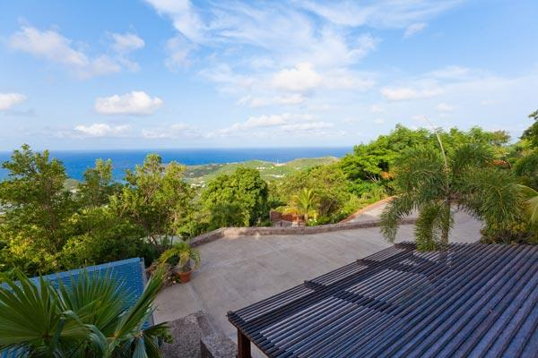 Private St Barts villa with a nice breeze & the sounds of nature WV NAM - Image 1 - Vitet - rentals