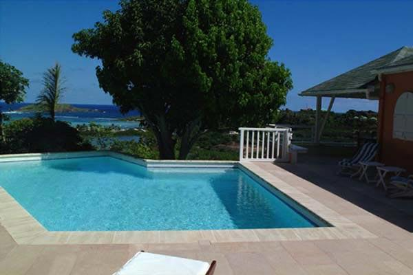 An attractive and peaceful villa high above Cul de Sac beach WV VEN - Image 1 - Saint Barthelemy - rentals