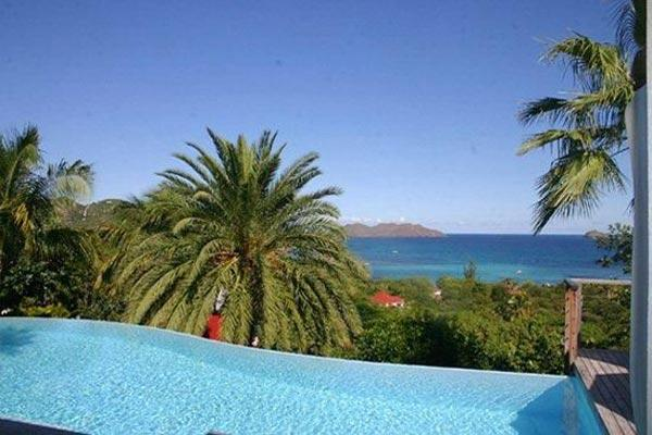 A beautiful villa on the hillside with magnificent views WV THI - Image 1 - Saint Jean - rentals
