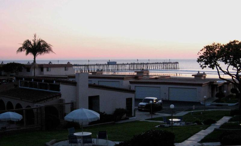 Pismo Beach pier and ocean view from master bedroom - Pismo Shores Gem - CATCH THE SUMMER FUN! - Pismo Beach - rentals