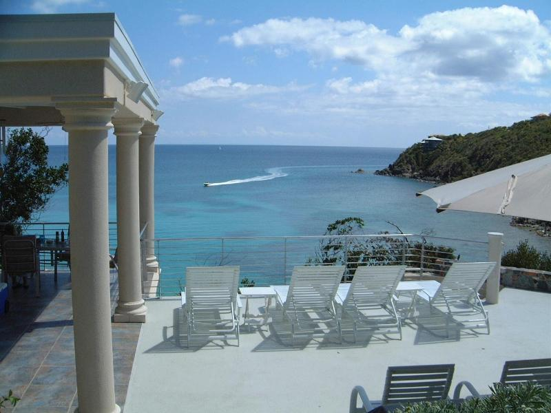 view from deck - Sanctuary  St John USVI - Luxury Villa Rental - Saint John - rentals