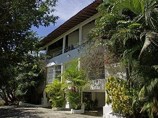 Front View of Quinta Encantada - Casa Samuel - Breathtaking Views of Banderas Bay - Puerto Vallarta - rentals