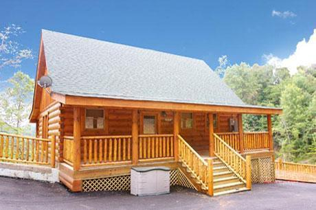 Ever After Cabin, parking in front - Ever After--Hot Tub and Sauna, near Dollywood - Sevierville - rentals