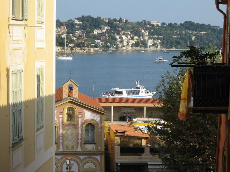 View from the Balcony - 2 bedroom apartment in Villefranche-sur-Mer - Villefranche-sur-Mer - rentals