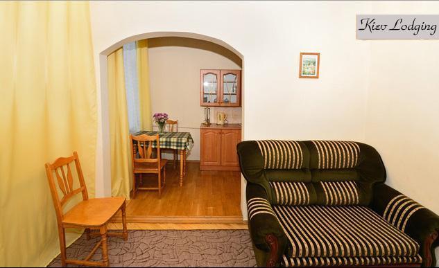 Open plan kitchen - Kiev historic center one-bedroom apartment - Kiev - rentals