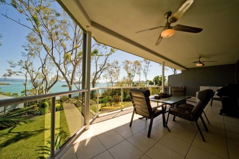 Balcony View - Blue Water Views 13 - Hamilton Island - rentals