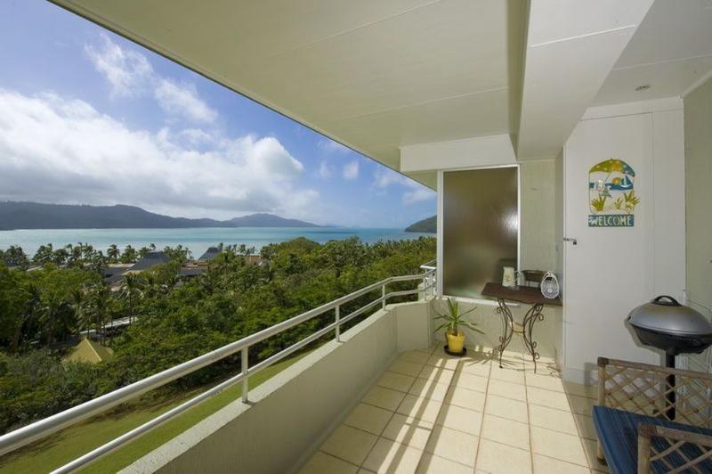 Balcony - Poinciana 208 - Hamilton Island - rentals