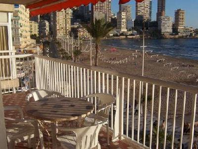 Balcony - Levante Beach Front Line - 2-bedroom apartment - Benidorm - rentals