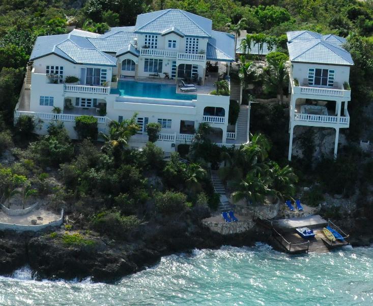 Luxurious Oceanfront Ambrosia Villa! - Ambrosia Villa, Luxury Oceanfront Property - Shoal Bay Village - rentals