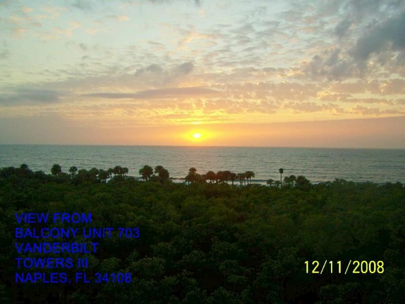 Toast the Sunset from our Balcony - 2 Bedroom Beach Condo Vanderbilt Beach Naples Fl - Naples - rentals