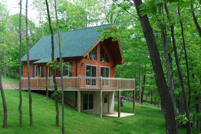 "Wow! Total seclusion. - ""Stunning Getaway In The West Virginia Mountains!"" - Seneca Rocks - rentals"