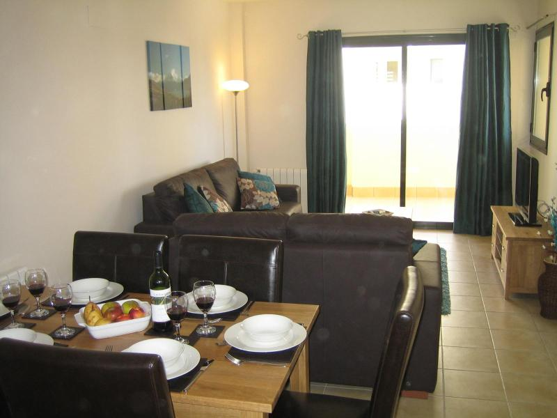 Spacious Lounge - Corvera Golf Apartment - Luxury 3 bed apartment Corvera Golf Resort, Murcia - Corvera - rentals