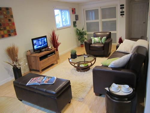Large Living Room - Apartment close to nature & downtown Vancouver - Coquitlam - rentals