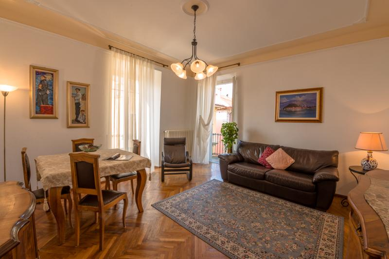Living room - S.Giacomo Central Apartment -Lake view & balconies - Bellagio - rentals