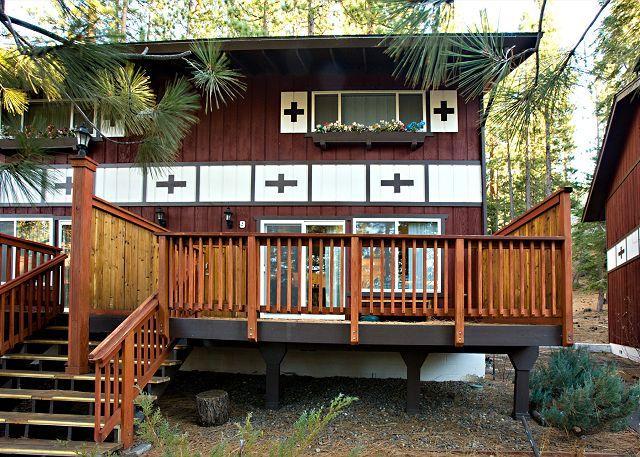 Tahoe, Sitzmark 9 front deck - Spacious condo next to Heavenly. - South Lake Tahoe - rentals