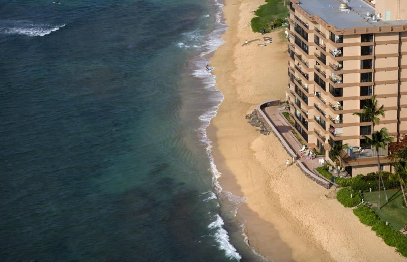 View of building from above - Oceanfront Studio Condo with fantastic views - Ka'anapali - rentals