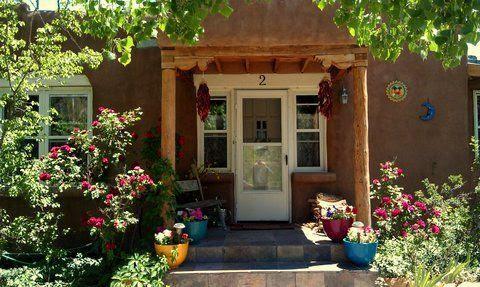 Summer Cottage entrance - Freeman's Cottage - Santa Fe - rentals
