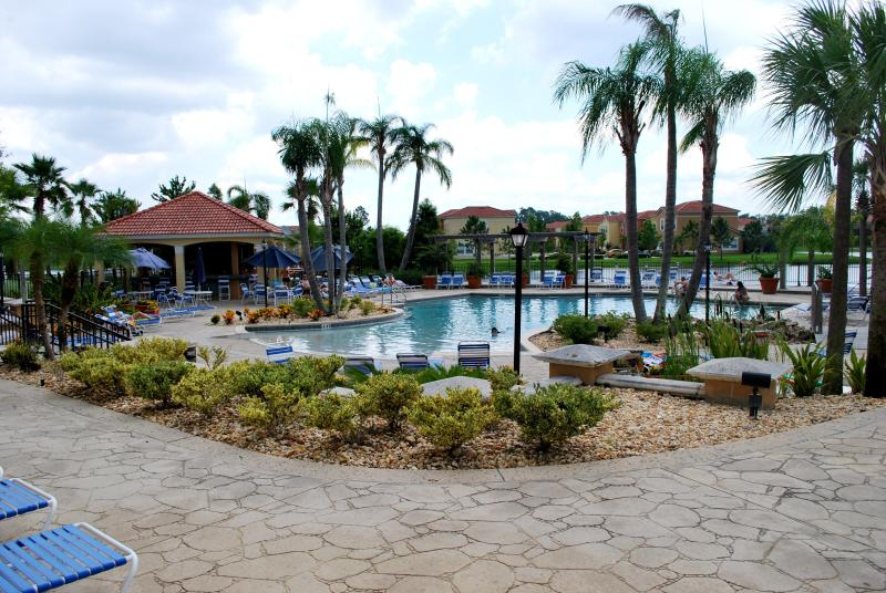 Terra Verde Resort Swimming Pool & Tiki Bar - View 1 - A Luxuriously Furnished  Townhome with Private Spa - Kissimmee - rentals