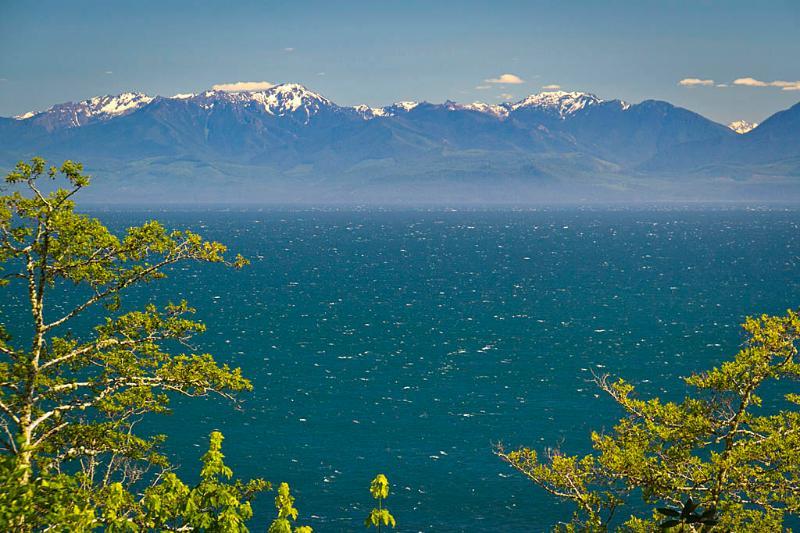 Juan de Fuca Strait & Olympic Mtns. - Orveas Bay Resort Beach House & Cottages - Sooke - rentals