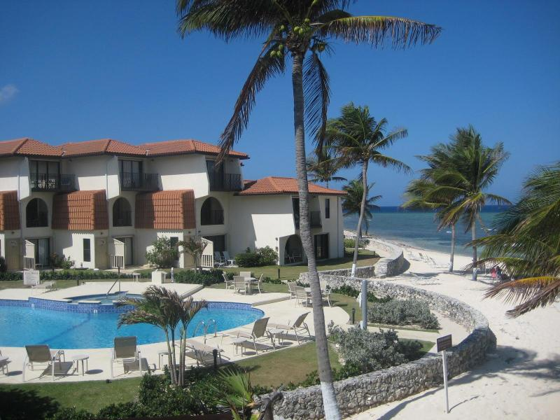 View from Master balcony - Oceanfront Villa with Amazing Views! - West Bay - rentals
