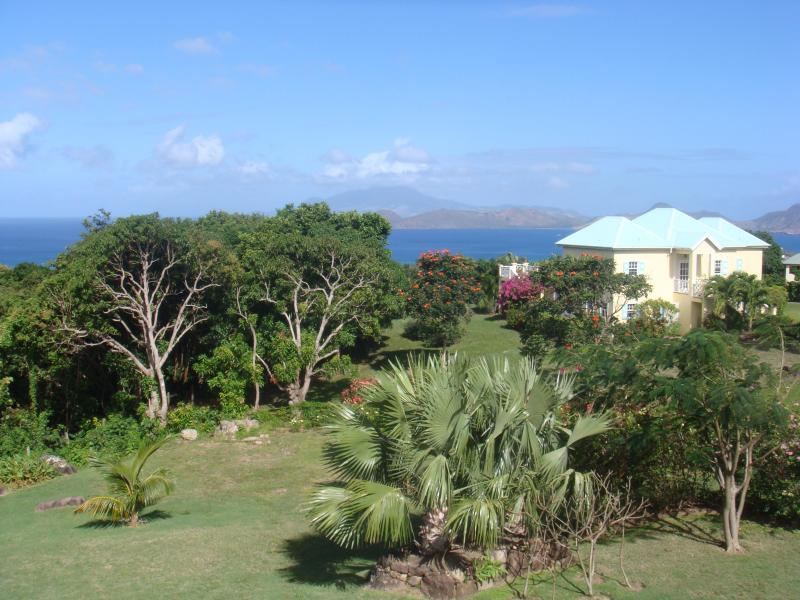 Bird's Eye View of Serendipity - Charming  2-bedroom villa with pool and great view - Nevis - rentals