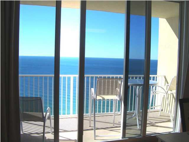 18ft wide balcony overlooking the Ocean - Next To Pier Park! 2.5BR/3BA Ocean-Front Condo! - Panama City Beach - rentals