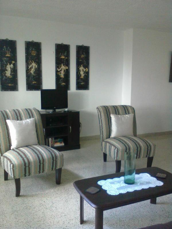 Living Room - El Monte Sur Condo Apartment - San Juan - rentals
