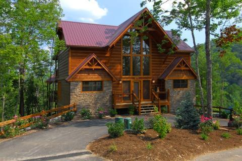 Suite Mountain View - 4BR/4BA, Sleeps 12 - Image 1 - Pigeon Forge - rentals
