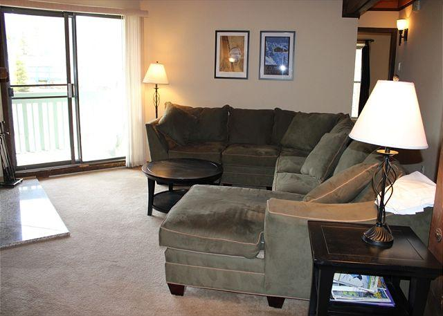 TH202F Super Condo w/Wifi, Clubhouse, Fireplace, King Bed - Image 1 - Silverthorne - rentals